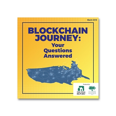 Blockchain Journey Your Questions Answered webinar