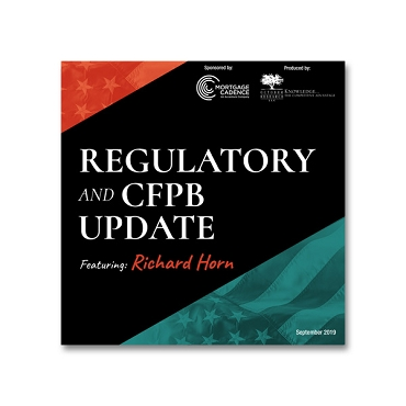 Regulatory and CFPB Update webinar