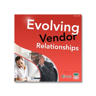 Evolving Vendor Relationships webinar